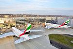 Podwójna dostawa powiększyła flotę A380 Emirates do 44 maszyn